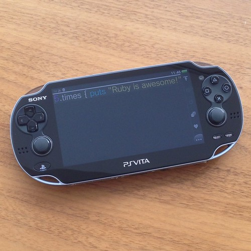 mruby on PSP Vita | by masuidrive76