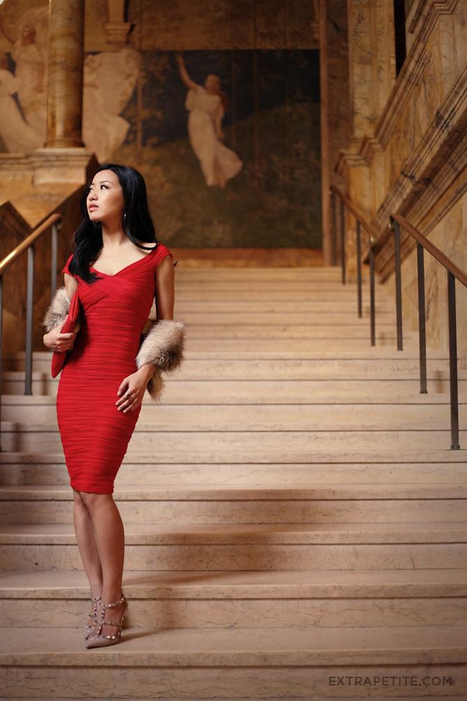 Asos Red Dress Boston