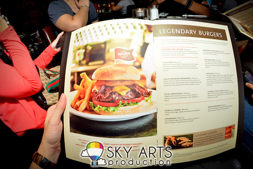 Hard Rock Cafe Melaka Menu