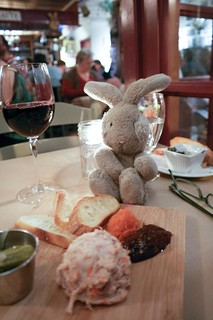 Travel Bunny & Rabbit Rillette at at Le Lapin Sauté - #LexGoFurther | by LexnGer