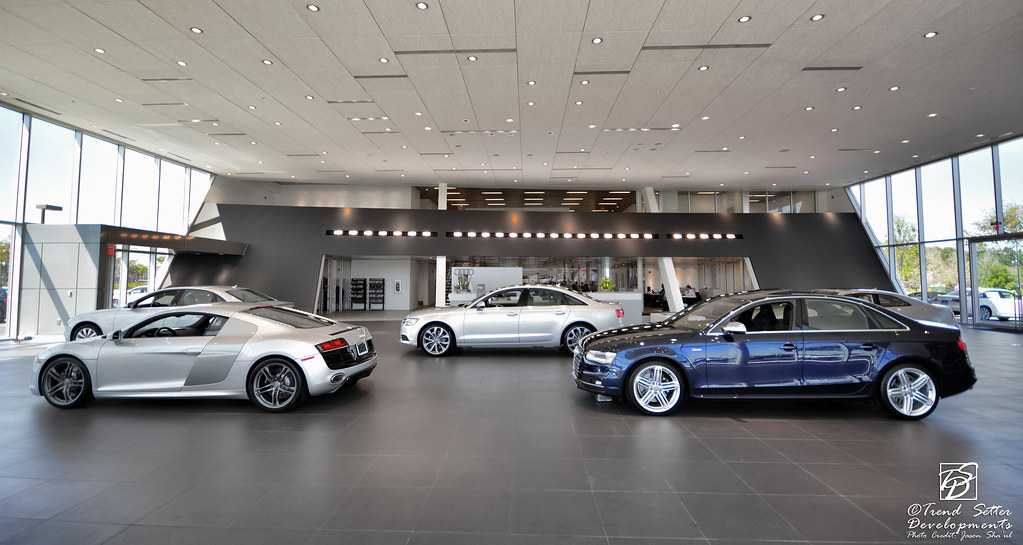 Audi North Orlando New Showroom The Newly Built Showroom