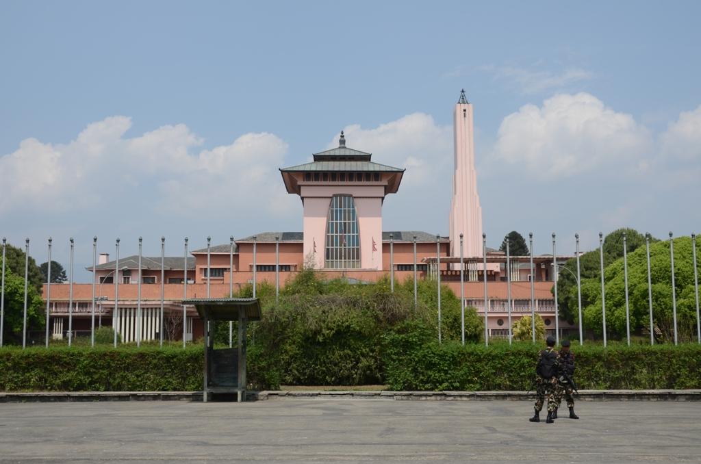 Kathmandu.Narayanhiti Palace Museum.