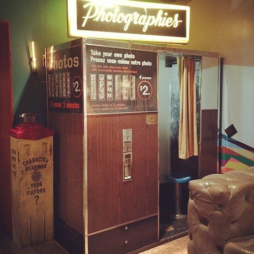 #Photobooth at the lobby of @thedrakehotel. #irony #hipster | by The Dafinator