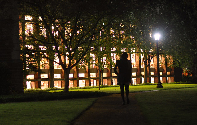 Day 42: Thoughts From Campus at Night