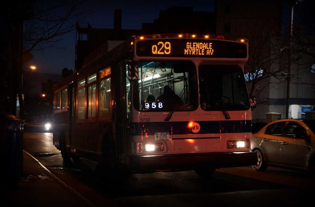 Q29 Orion Vii Mta Nyct Bus 3732 Hoffman Dr Woodhaven Flickr