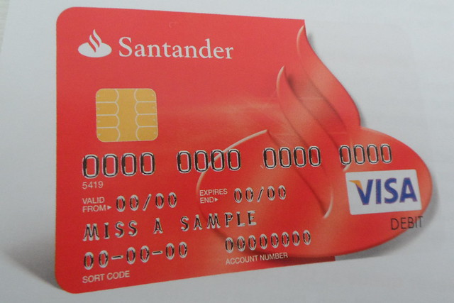 Santander visa debit card flickr photo sharing - Cad santander ...