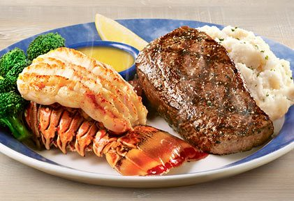 Red Lobster Wood-Grilled Sirloin Surf & Turf | tmester | Flickr