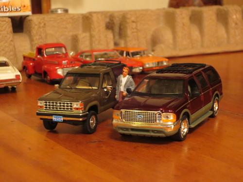 Ford Bronco Ii And Excursion Size Comparison Verdict