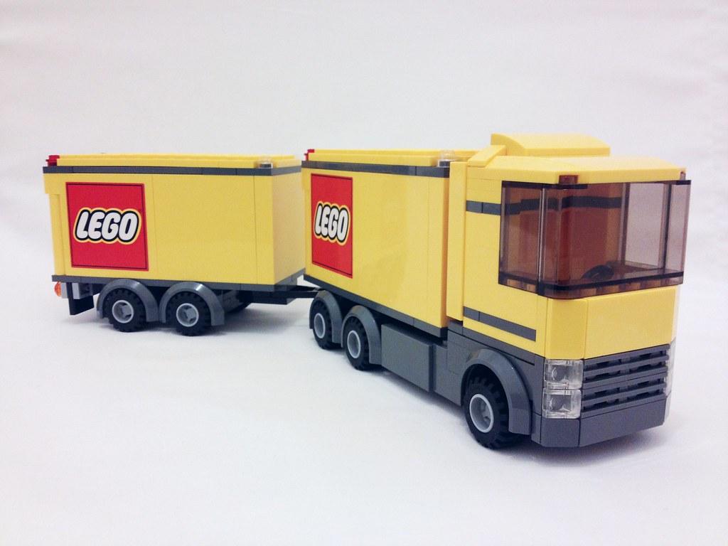 lego city yellow truck 001 nicholas gott flickr. Black Bedroom Furniture Sets. Home Design Ideas
