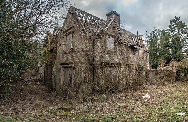 Abandoned House Trentham Gardens Flickr Photo Sharing