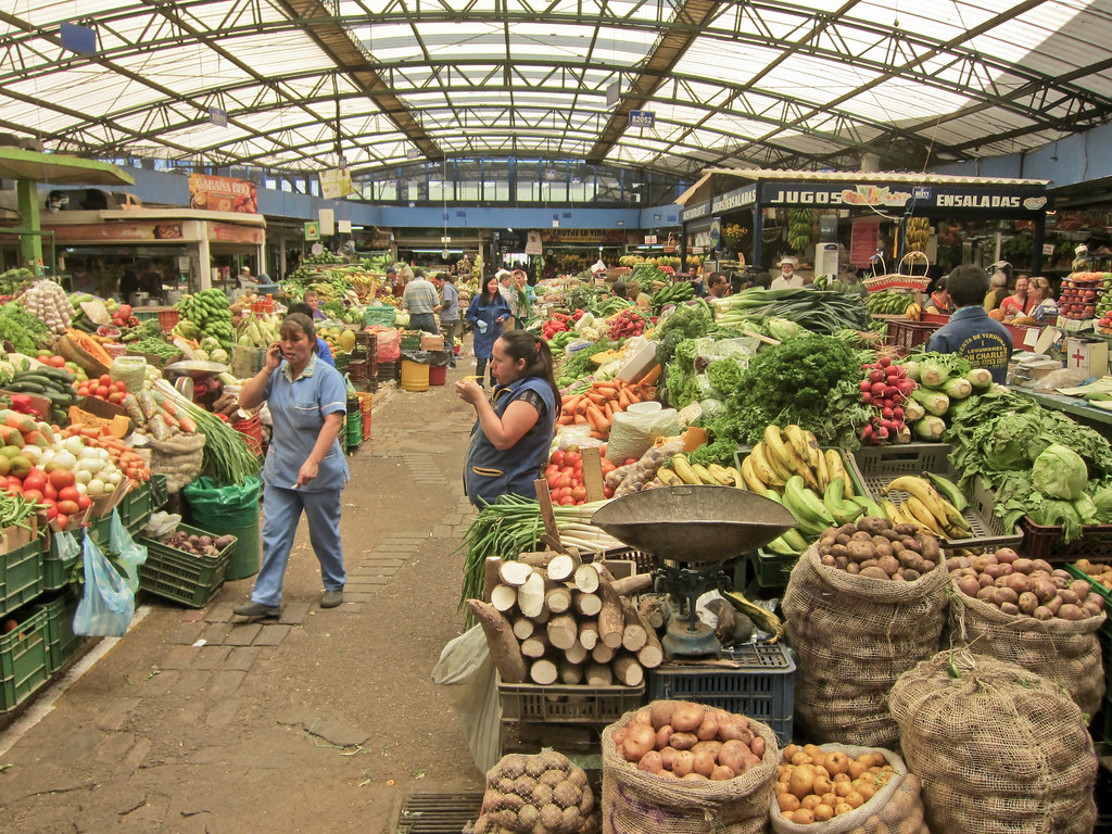 Fruit Market Bogota Colombia Wouldn T It Be Nice To