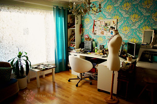 My workroom | by helmitarha