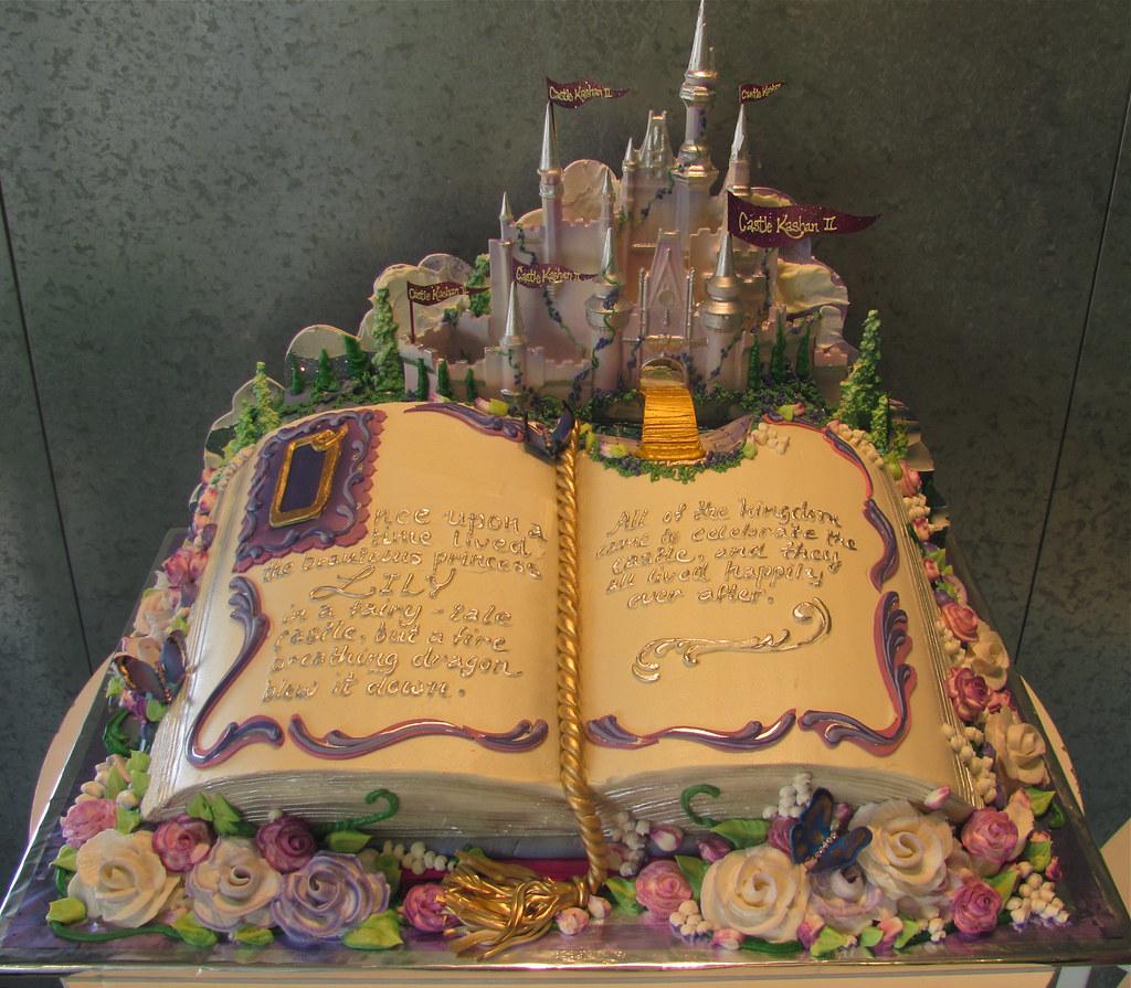 Big Storybook Cake Here Is A Big Version Of Rosebud S