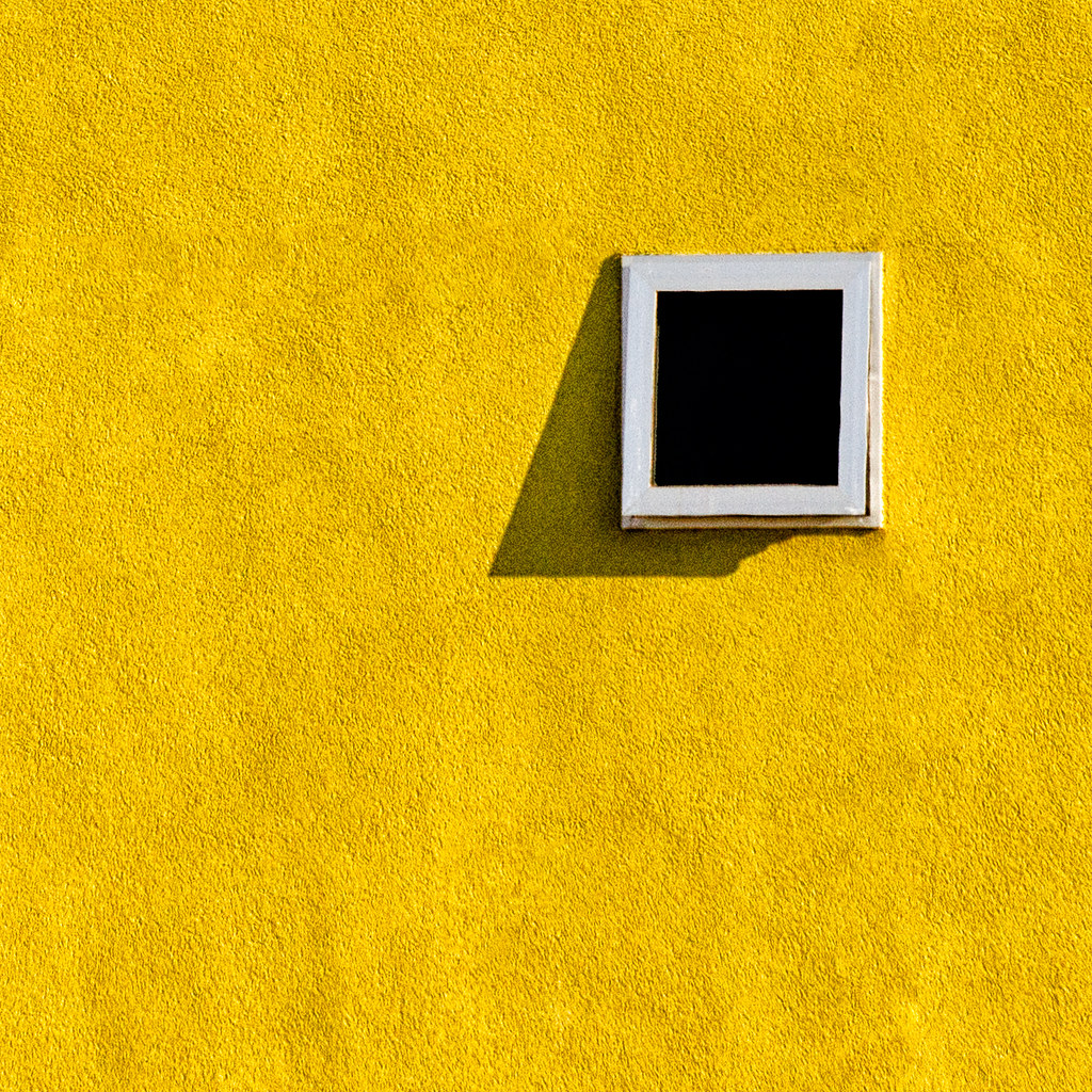 Window In A Yellow Wall Sam Cox Flickr