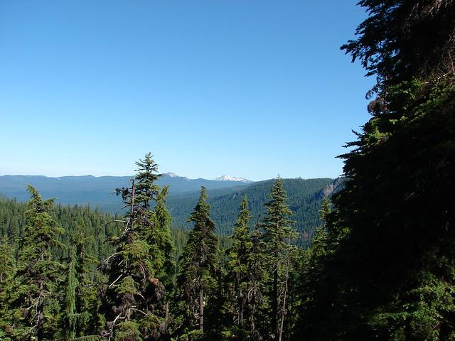 Sawtooth Mountain, Diamond Peak and Cowhorn Mountain