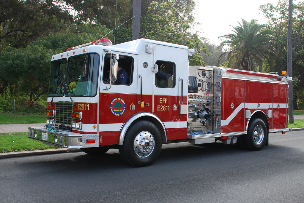 Elfin Forest Harmony Grove Fire Dept Hme Pumper Of The
