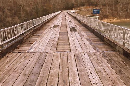 Great Falls Dam Bridge - Rock Island, TN