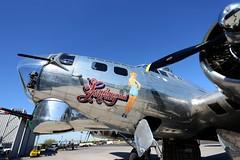 WWII Vintage B-17 Bomber
