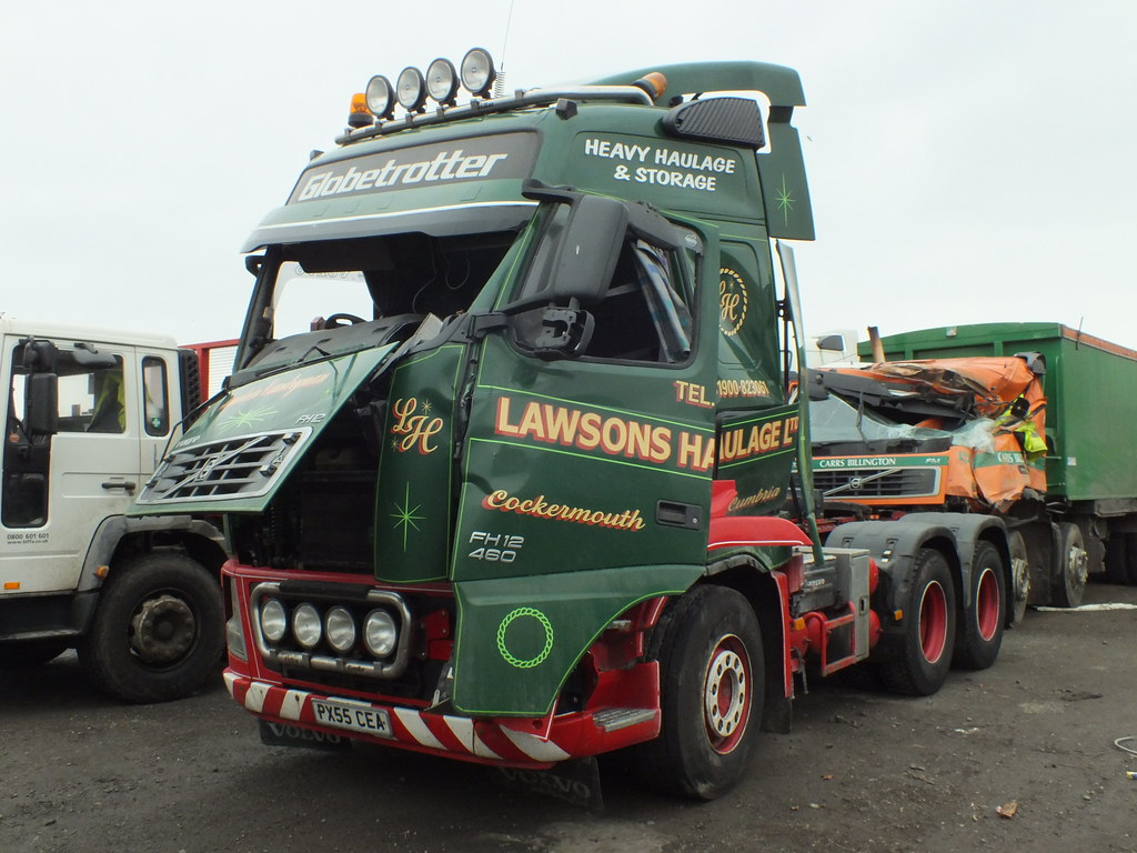 Px55cea Volvo Fh12 Lawsons Haulage Photo Taken With