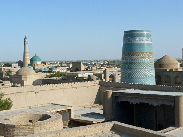 Khiva (Jiva), la ciudad de las mil y una noches en Uzbekistán