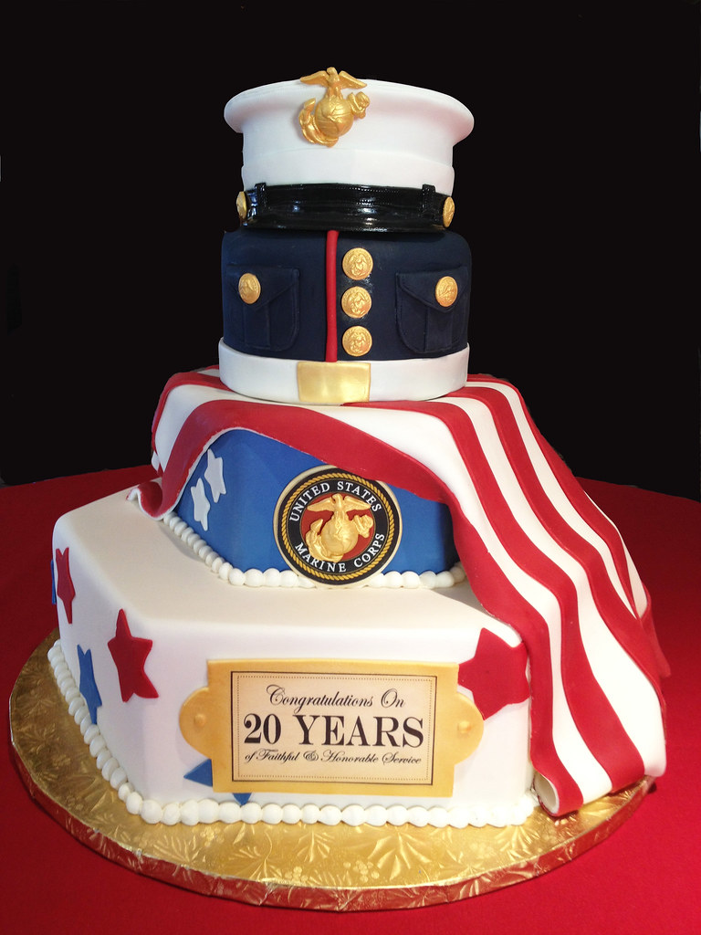 Military Retirement Cakes Cake Ideas And Designs