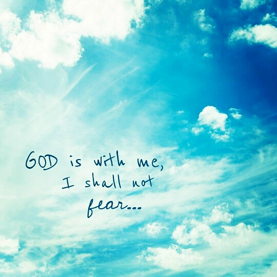 God is with me, I shall not fear... | created by Lia Oktavia… | Flickr