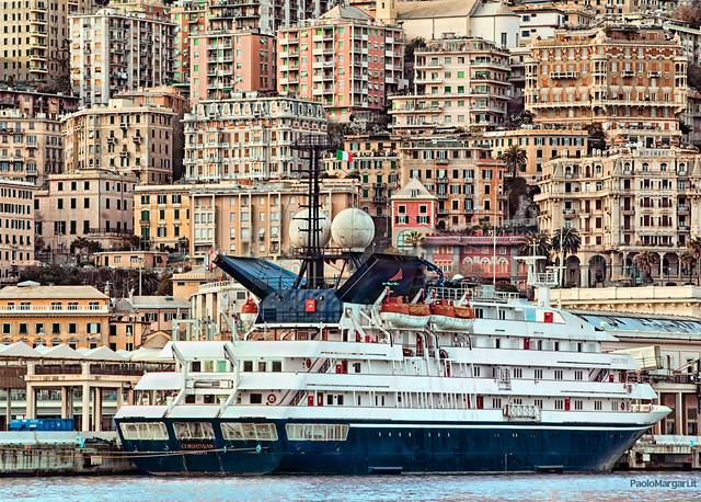 Porto di Genova, Italia