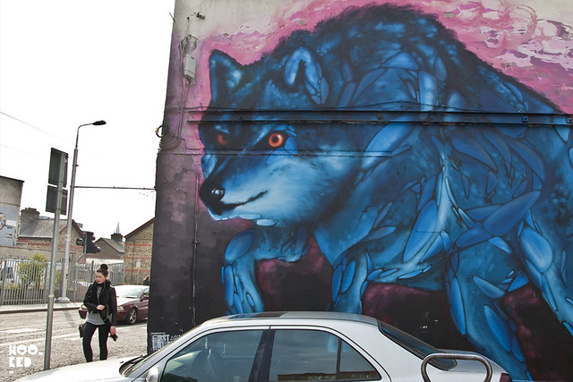 Irish Street Artist James Earley hits the streets of London with some new work on Brick Lane