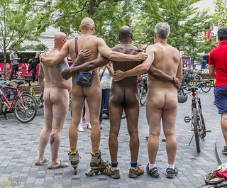 world naked bike ride montreal 01 | by Eva Blue