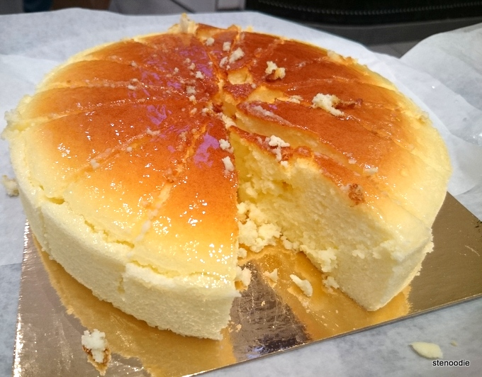 Japanese Cheesecake from Bake Code
