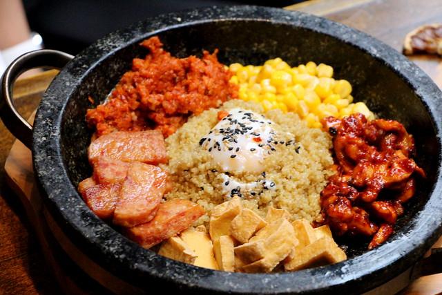 Quinoa Bibimbap