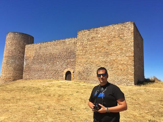 Sele en el castillo de Medinaceli (Soria)