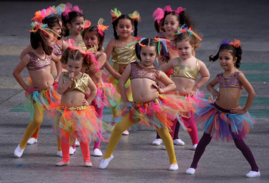 Festival Disfraces Infantiles y Murgas Carnaval 2013 Las P