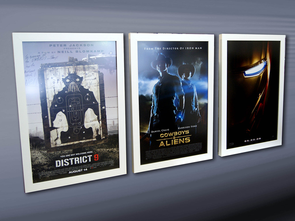 week 9 movie poster frames