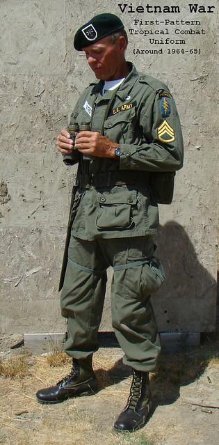 vietnam war special forces firstpattern tropical combat
