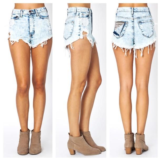 non jean shorts