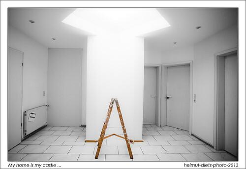 flur w nde streichen 2 tage 9 t ren und sockel streichen flickr. Black Bedroom Furniture Sets. Home Design Ideas