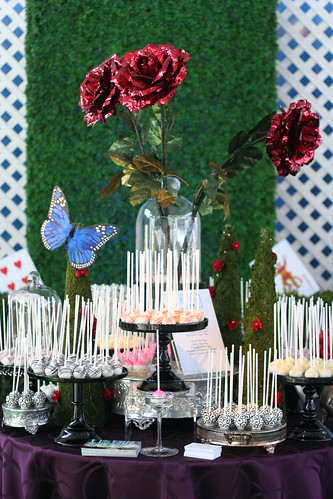 Cake Pop Display with Fun Dramatic Decor | by Sweet Lauren Cakes