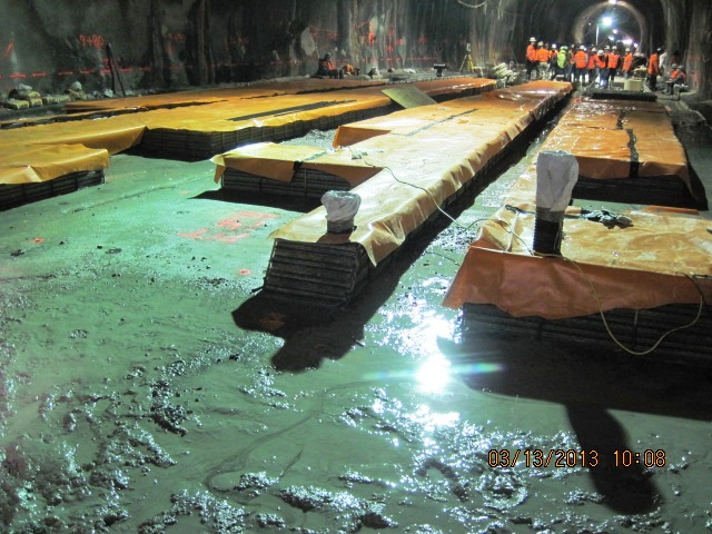 Cm019 installation of sub soil drainage system in gct4 w for Soil drainage system