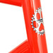 Head tube on Gunnar Sport 2013 - in Poppy.