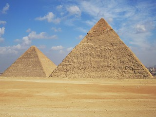 Giza Pyramids | by D-Stanley