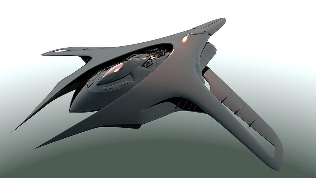 Future Spaceship Concept