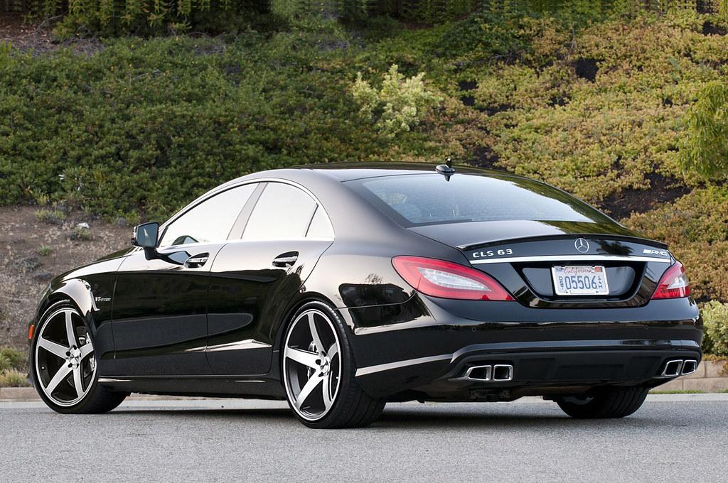 White Cls Mercedes Benz Dark Windows