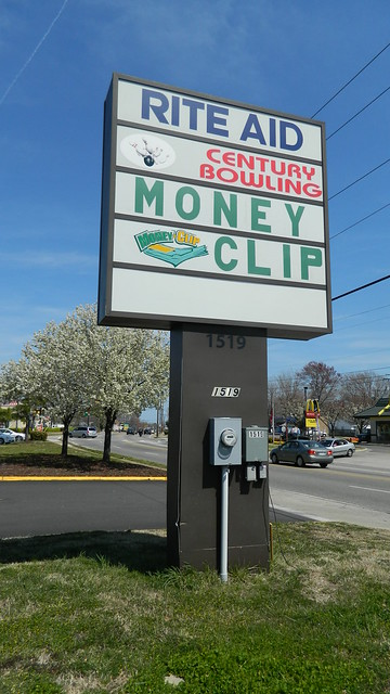 Rite Aid Century Lanes Money Clip Sign Flickr Photo