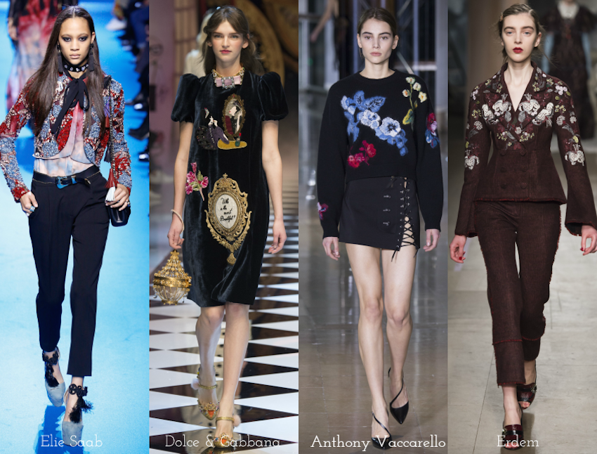 Trend Report: A/W 2016: Embroidery