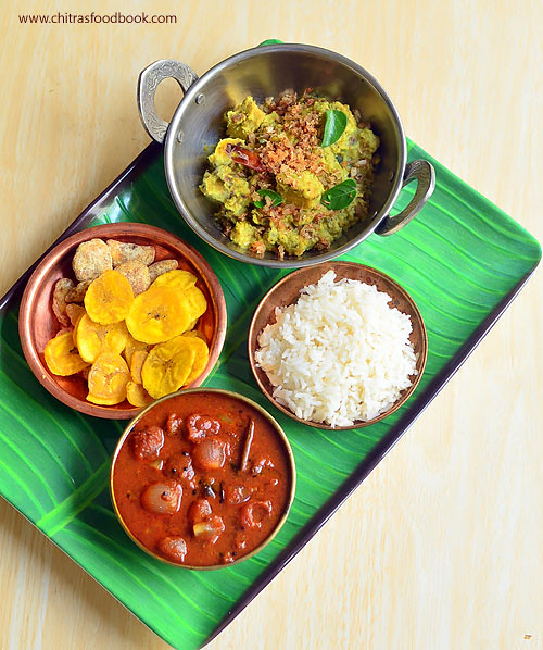 Ulli theeyal recipe - Kerala style Shallot curry for rice