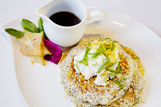 Quinoa Poppy Seed Pancakes | by thepalmshotel