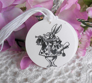 Alice in Wonderland Gift Tag | by wotdoin