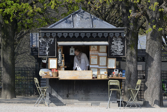 Creperie jardin du luxembourg flickr photo sharing for Cafe jardin du luxembourg