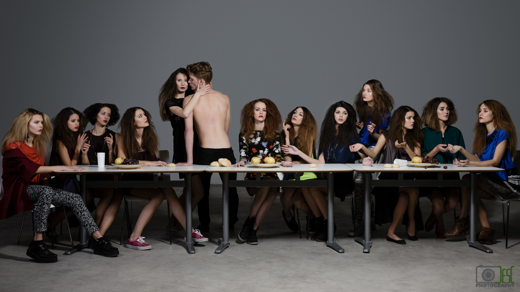 THE LAST SUPPER I [LA ULTIMA CENA I] | MONROE MODELS